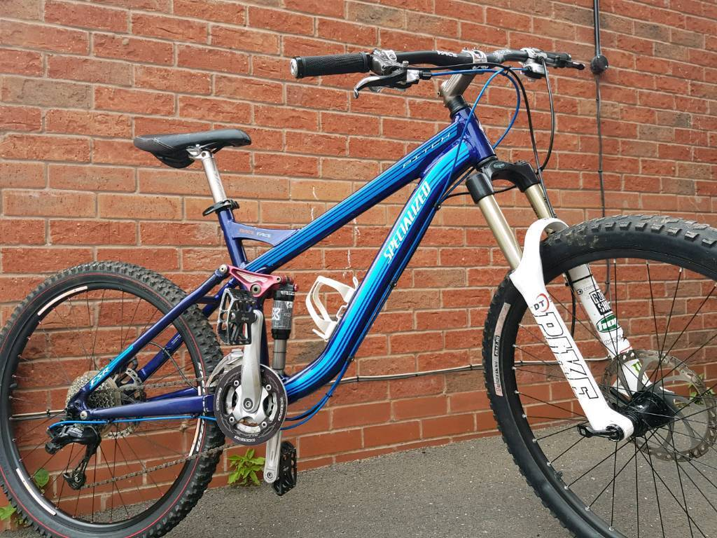 Specialized Pitch Comp Full Suspension Mountain Bike In