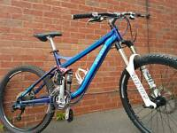 Specialized pitch comp, full suspension mountain bike