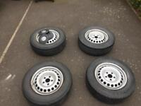 """VW T5 wheels and tyres 16"""""""
