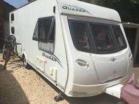 Lunar Quasar 546 six berth caravan