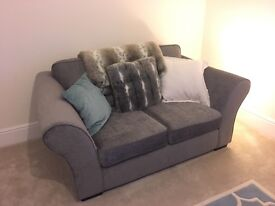 Sofa Suite , immaculate condition, less than 1 yr old & barely used