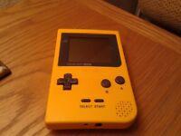 Nintendo Game Boy Pocket.