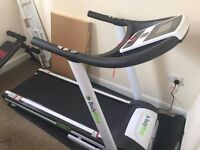 Bodymax T80HR folding treadmill RRP £650 - Like New