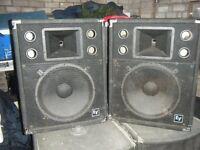 EV S152 Speakers for spares or repair.