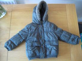 Boys 'puffer' style winter coat (age 2)