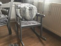 Small child size rocking chair