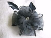 Beautiful Navy fascinator