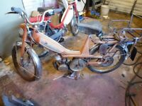 MOBLETTE MOPED BARN FIND SPARES OR REPAIR ENGINE TURNS OVER WITH GOOD COMPRESSION