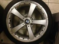 Genuine Bmw alloy wheels 18 inch