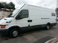 iveco daily 2.3hpi long wheel based van, ideal for camper conversion
