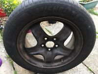 Winter tyres (with wheels) for Ford Focus 1.6 TDI