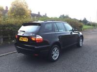 2006 BMW X3 2.0 DIESEL SE 4X4 MANUAL BLACK FSH