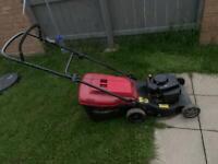 Mount field lawnmower