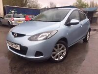 08 plate - Mazda ts2 -t2 - 8 months mot - 2 keepers - part service history