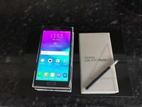 Samsung Galaxy Note 4 (32GB) mint condition boxed all networks