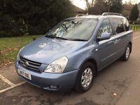 2007 KIA Sedona 2.9 CRDi LS 5dr Auto Diesel Warranted Low MIleage 7 Seater @07445775115@