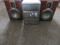Philips Expanium MCM8 Micro System Hi fi radio CD tape stereo player