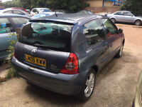 Renault Clio 06 (LOW MILAGE 38K) 1.2L, Mot: MAY 18 Great car !
