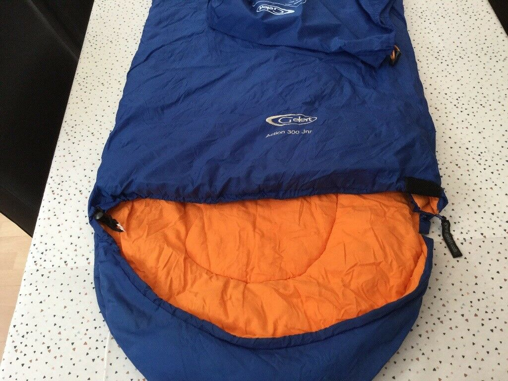 31e9f9c136 Gelert Action 300 Jnr (junior) sleeping bag and carry case