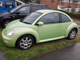 vw beetle, very low mileage, excellent condition