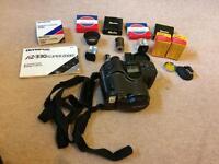 Olympus AZ 330 Super Zoom 35mm Camera