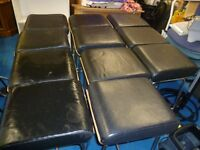 X12 BAR STOOLS ( LEATHER )