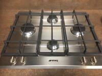 Ex display smeg gas hob and single oven