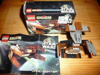 *** Lego 7111 Star Wars Droid Fighter *** 1999