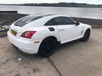 2004 White Chrysler Crossfire 3.2 V6 2 Door Coupe Manual