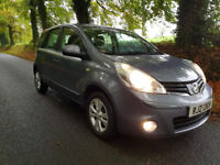 Nissan NOTE 2010y, 74000miles, M.O.T., all Extras ,only £ 2299 ONO
