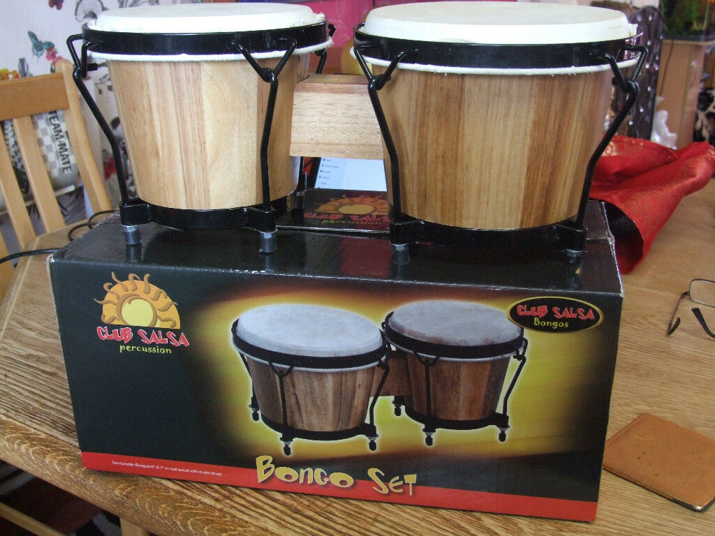 Percussion Bongo Drums | in Livingston, West Lothian | Gumtree