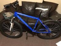26 inch Muddyfox freefall bike