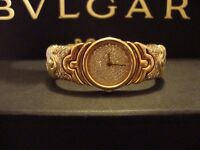 BVLGARI PARENTESI LADIES FULL DIAMOND ENCRUSTED WATCH .VALUATION ��28,000 BOXES FOR SALE JUST ��5750