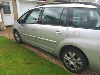Silver C4 Grand Picasso for sale, 65k miles.