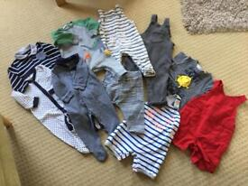 Next boy clothes bundle 6-9months