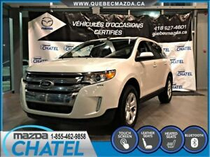 2014 Ford Edge SEL AWD - CUIR - SIEGES CHAUFFANTS - ECRAN TACTIL
