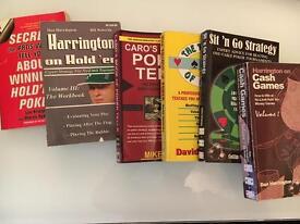 Poker book bundle - 6 books