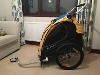 Burley bicycle trailer and jogger