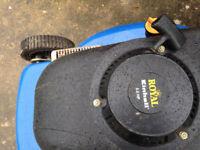 Royal petrol lawn mower