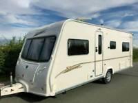 Bailey Senator Indiana 4 Berth Luxury 07 Touring Caravan