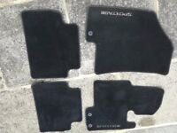 Kia Sportarge fabric Mat set