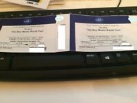 2 x Drake tickets at O2 London now Mon 20th March 2017 - row 106 - rescheduled show