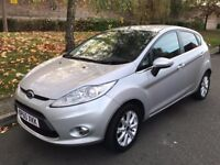 2011 Silver Ford Fiesta 1.25 Zetec 5dr Hatchback Manual Petrol - P/X Welcome