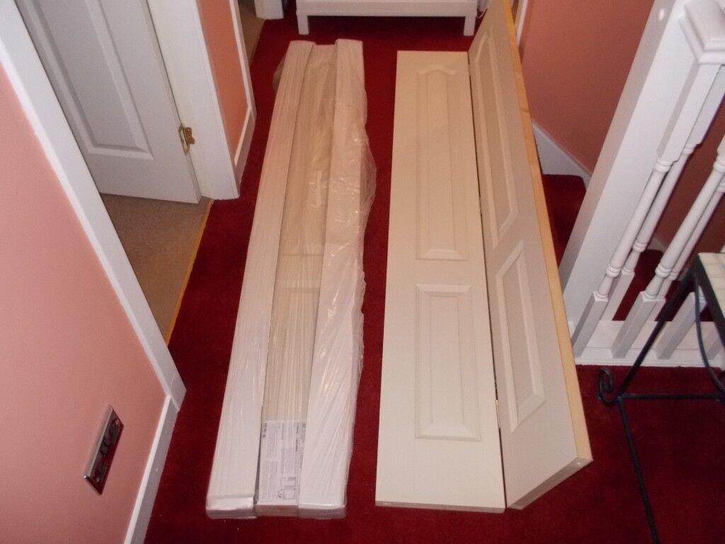 Brand New Jeld Wen Camden Bifold Interior Doors 1981mm X 610mm X