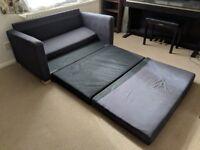 Ikea Solsta Two-seat sofa-bed, Ransta dark grey