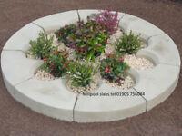 Garden Cathedral Planter Circle patio stone