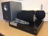 JBL CS3 DVD 5.1 HDMI Home Cinema System, 2 USB Ports, Digital Radio, AUX Inputs etc, Full Working.
