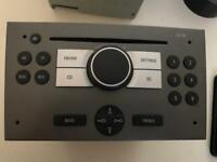 Vauxhall Vectra car radio with CD player