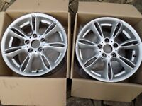 "Bmw Z4 Alloy 2x 17"" oginal boxed"
