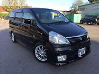 NISSAN SERENA 2.0 AUTO 8 SEATER M.P.V FRESH IMPORT 2005 05 REG LOW MILES